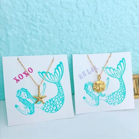beachy necklace....❤︎