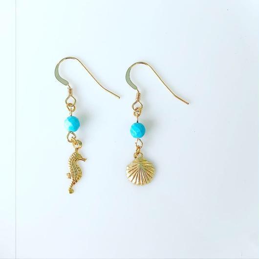 turquoise earrings...❤︎