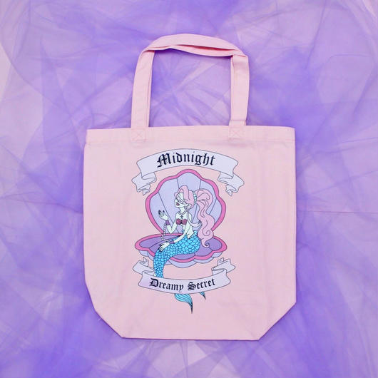 マーメイドトートバッグ/ Mermaid totebag