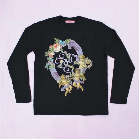 エンジェルフラワーシャツ(ブラック)/Angel Flower Shirt (Black)