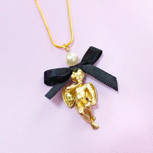 エンジェルリボンネックレス/ Angel Ribbon Necklace