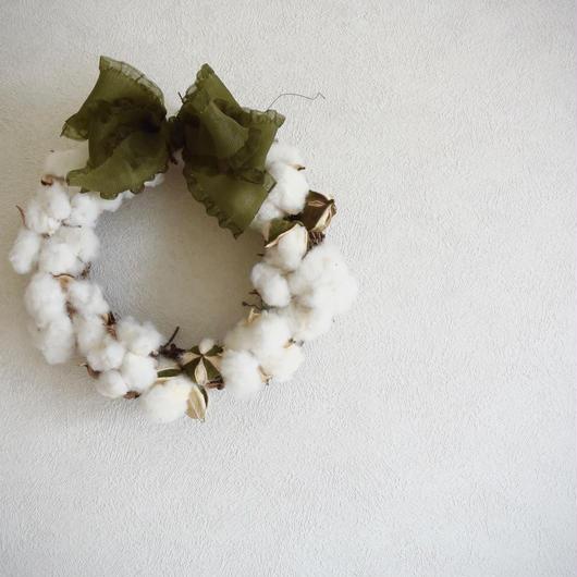 "Wreath ""Cottonfield"""