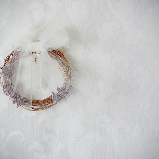 """【1点もの、送料込】2016ChristmasWreath★""""icicle"""""""