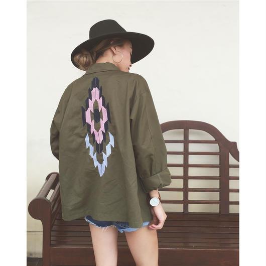 EMBROIDERY MILITARY JK