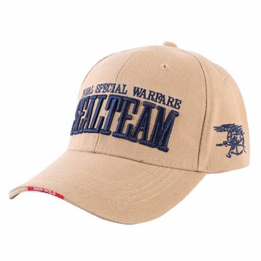 SEALL TEAM US海軍特殊部隊レプリカ デザインキャップ