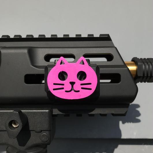 Rail Clip Cat Face