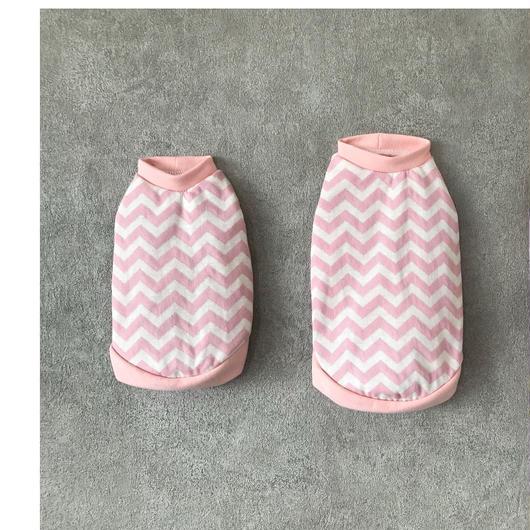 ORIGINAL herringbone tank top ♣︎ pink