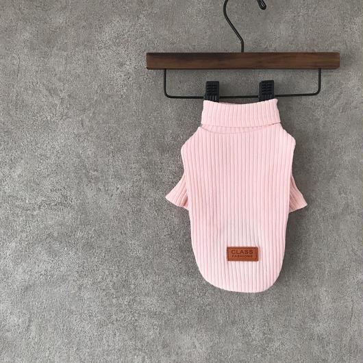 PET lib knit tops ♣︎ ピンク