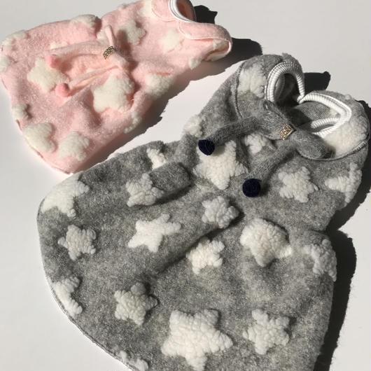 PET Boa one-piece ♣︎ gray