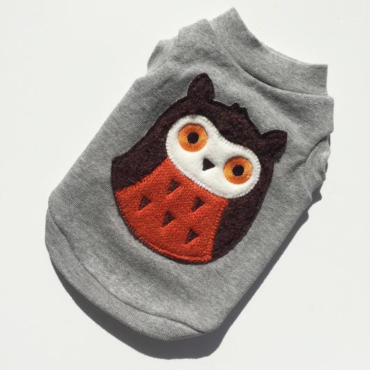 PET OWL tops♣︎グレー
