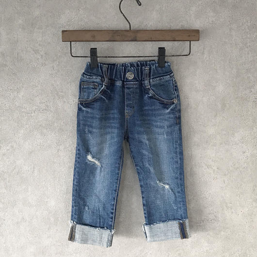 KIDS  crash   denim . [ blue ]   男女兼用