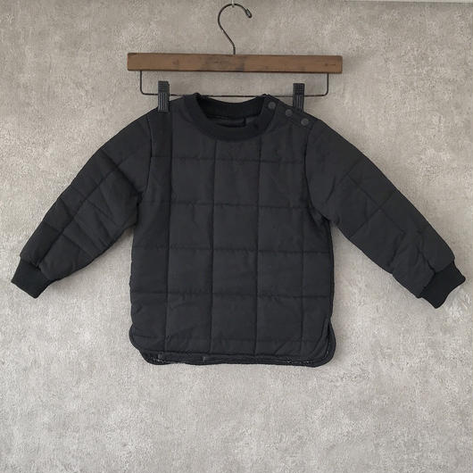 KIDS quilting tops . [ black ]