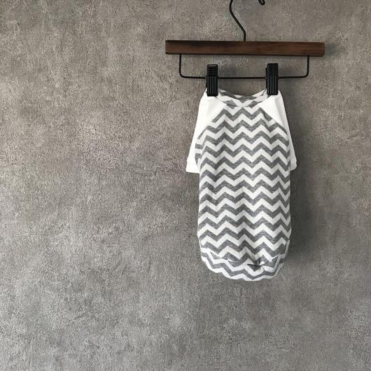 ORIGINAL herringbone raglan tops ♣︎ gray