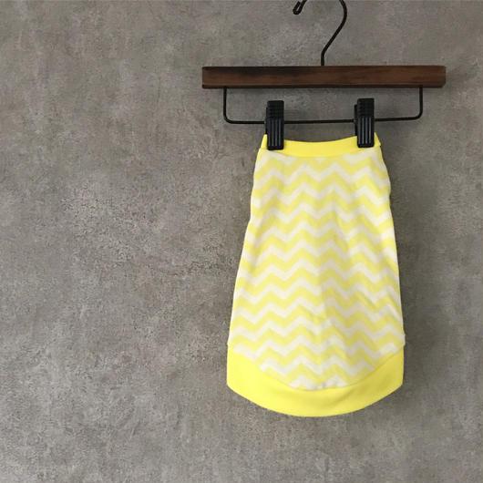ORIGINAL herringbone tank top ♣︎ yellow