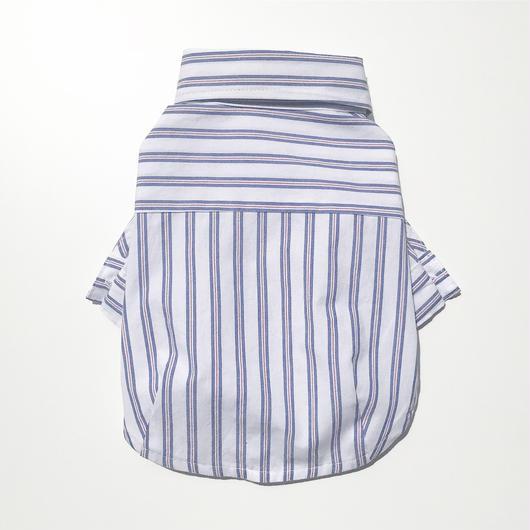 PET mulch stripe shirt ♣︎ ホワイト