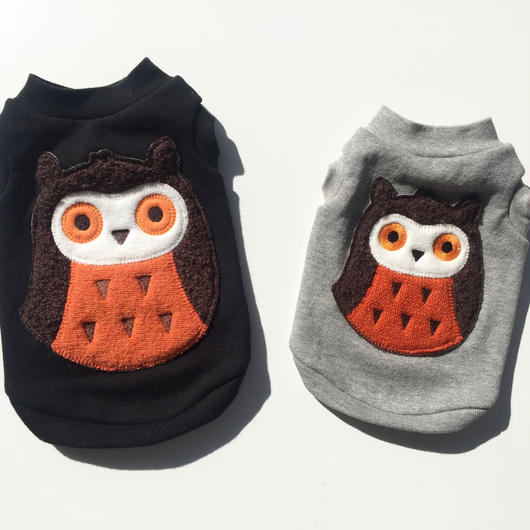 PET OWL  tops♣︎ブラック