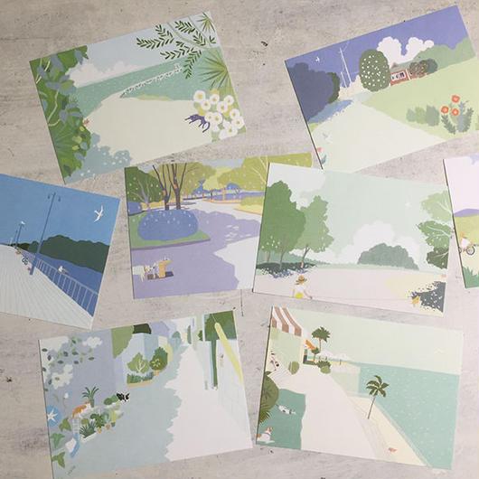 夏のポストカード 2018