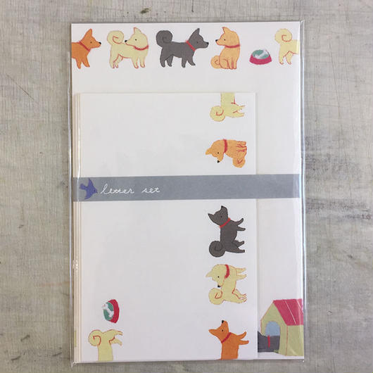 letter set イヌ