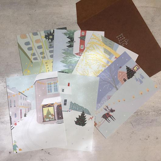 Christmas ポストカードセット  2017