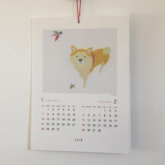 オリジナルカレンダー 2018