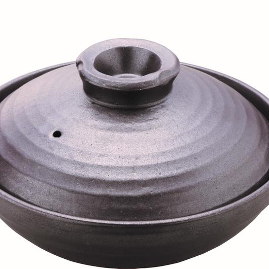 土鍋 ブラック(4.5人用) 98-399-07