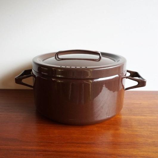 FINEL こげ茶両手なべ finel-016