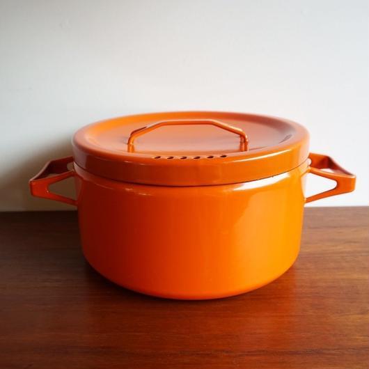 FINEL オレンジ両手なべ finel-005