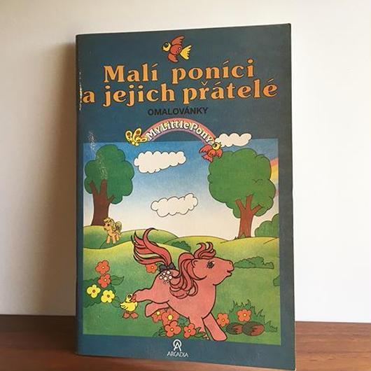 チェコ ぬり絵本 Mali ponici a jejich pratele book-036