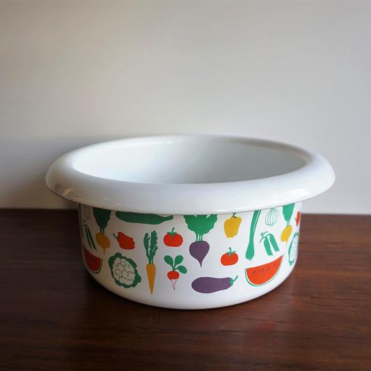 FINEL 野菜柄 ボウル(なべ) finel-029