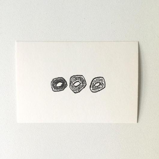 ポストカード ドーナツ