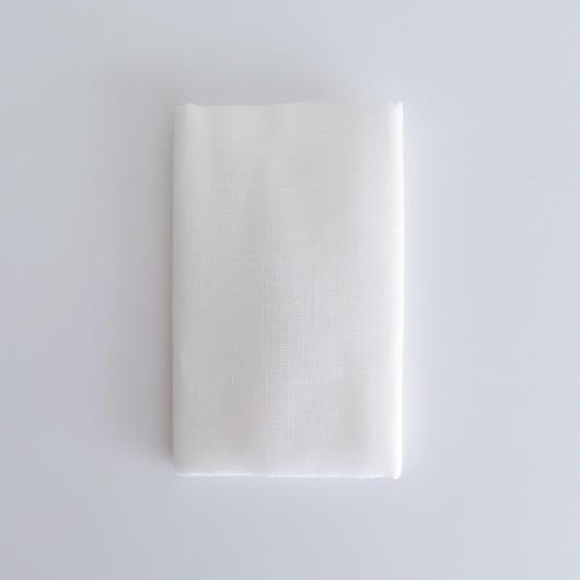蚊帳ふきんタオル 白