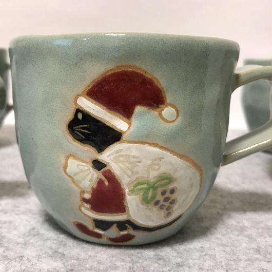 ココアサンタのマグカップ
