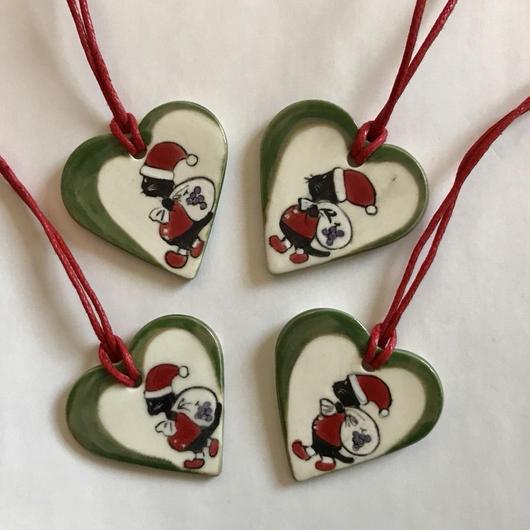 ココアサンタのクリスマスオーナメント【A】