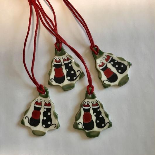 ココ&レイのクリスマスオーナメント【B】