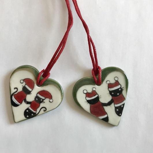 ココ&レイのクリスマスオーナメント【A】