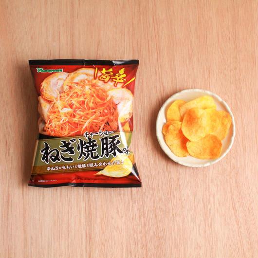 ポテトチップス ねぎ焼豚味 62g