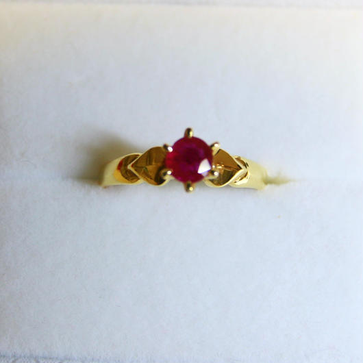 Rose Ruby Ring