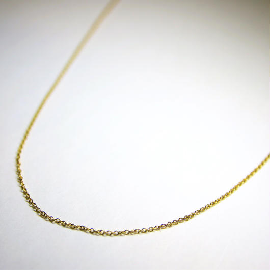 18K Necklace Chain (Width 0.8mm)