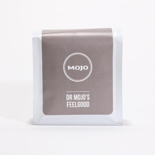 【定期便】Dr. Mojo's Feel Good ドクター モジョ フィールグッド 200g (Whole Beans豆, Grinds 粉)