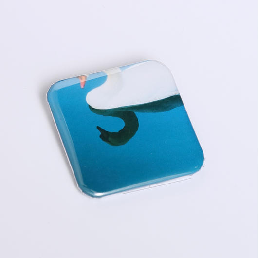 mona mona帯留め no.12(白鳥)