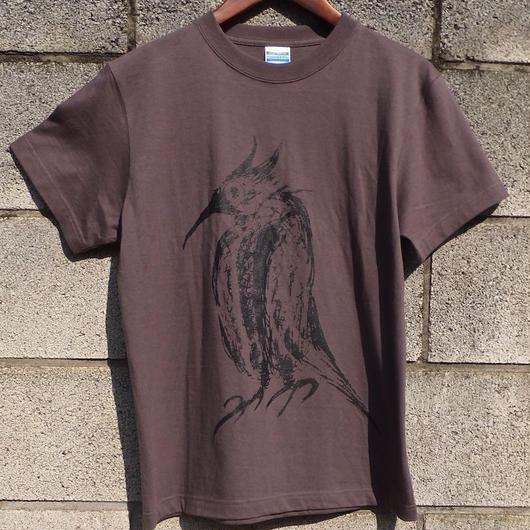 夜鳴鶯 T-SHIRTS (Charcoal)