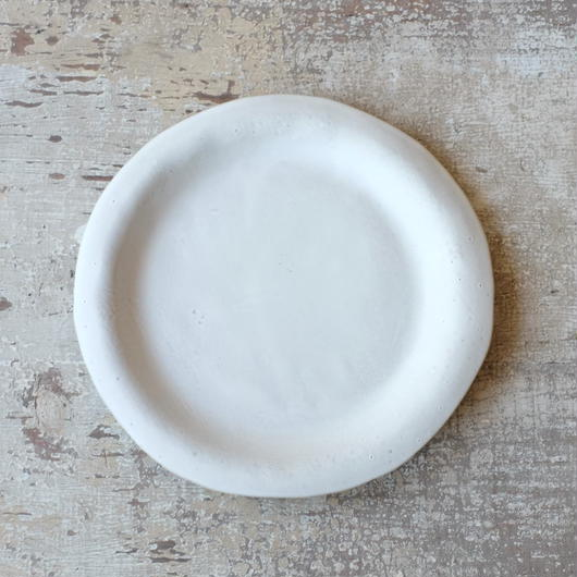 teto ceramic リムプレート・大(白マット)