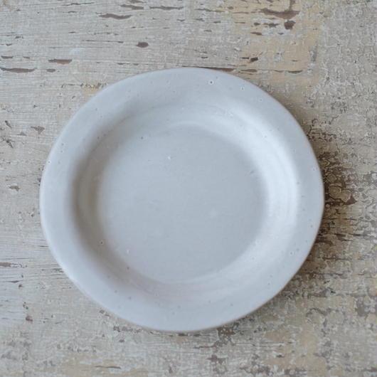 teto ceramic リムプレート・中(白マット)