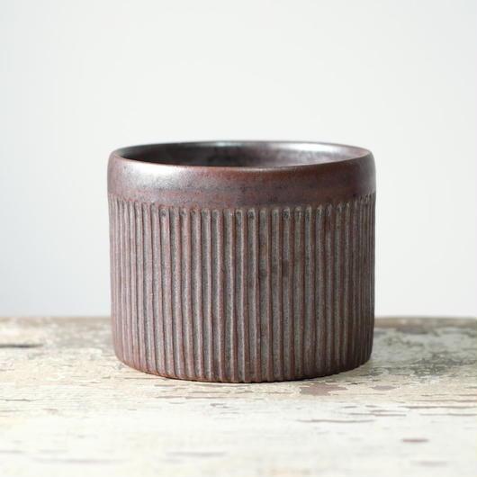 kobo  syuro  銀彩釉 筒鉢