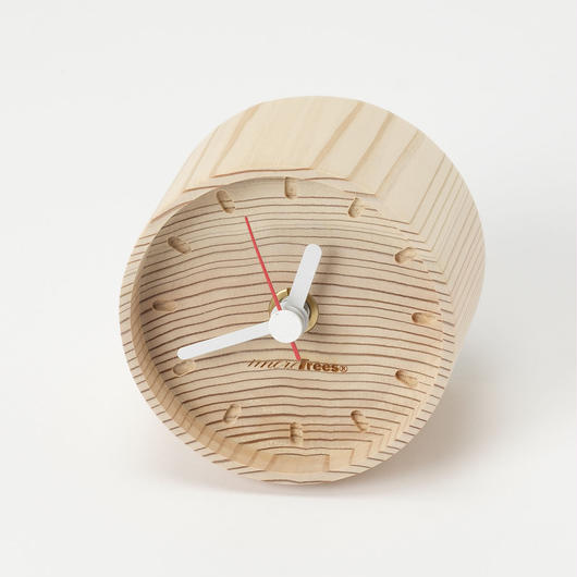 年輪の置き時計 (mt1101)