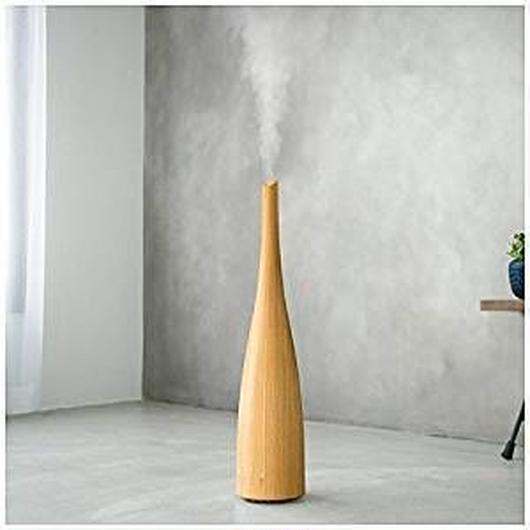ハイブリッド式 スリムタワー加湿器「レジーナ」 ナチュラルウッド HFT-1727