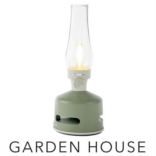 MoriMori LED ランタンスピーカー GARDEN HOUSE (グリーン色) FLS-1705- GR