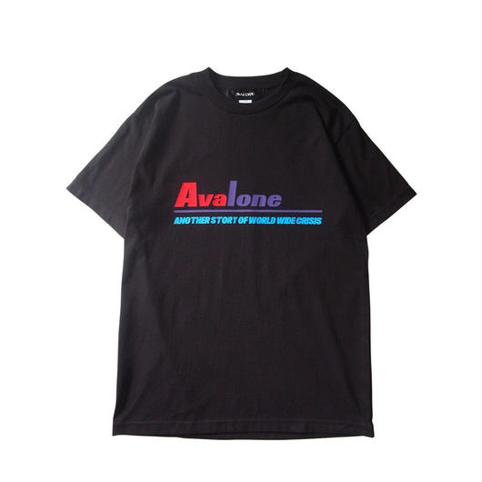 ANOTHER STORY A.D2048 SHORT SLEEVE TEE / BLACK