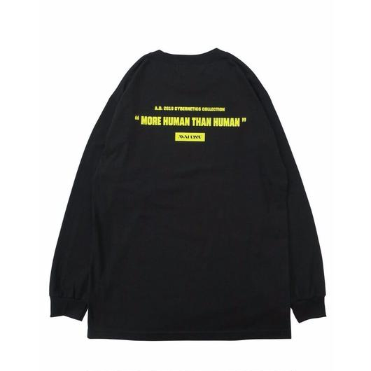 A.D2019 LIMITED LONG SLEEVE TEE /  BLACK