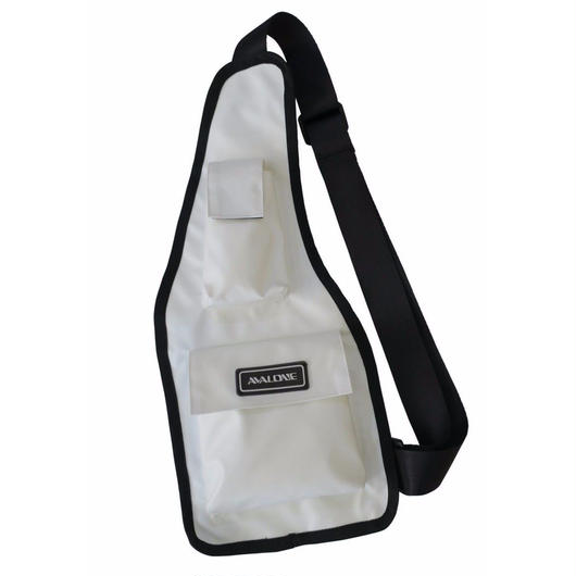WATER RESISTANT BODY BAG / WHITE